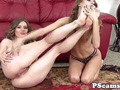 Babe rebel lynn enjoys lesbian fun