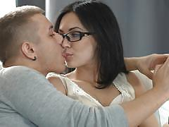 Hot suck and ass fuck for spectacled sheri v