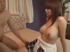 Nice tits japanese creampie