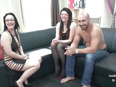 Young chubby amateur french banged hard for her casting couch with her bf