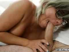 amateur, big tits, blowjob, mature, blonde, hardcore, glasses, european, cumshot, grey-eyes, cougar, fingering, kissing, pussy-licking, cowgirl, cock-sucking, natural-tits