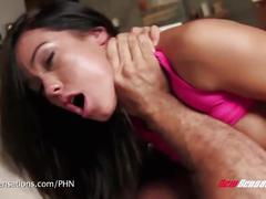 Megan rain likes it rough