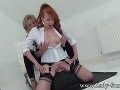 toys, lesbian, mature, red head, lady-sonia, girl-on-girl, fake-tits, adult-toys, huge-tits, sybian, orgasm, redhead, british, uk, milf, masturbation, big-tits, mom, blonde, stockings