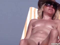 Nude beach milfs pussy close ups spycam voyeur hd