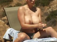 Gianna michaels big tits get fucked!