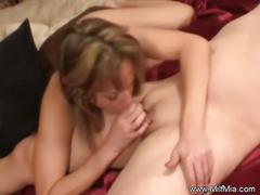 Mia loves a cock in her ass