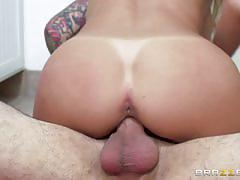 Back to back cock for sexy blonde alexis fawx