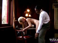 Harmony vision young harlot bibi noel punished by a bbc