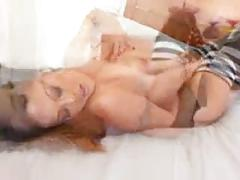 Asian babe getting dp'd by two big cocks
