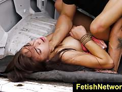 Wild michelle martinez gets her pussy hammered