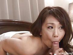 blowjob, kissing, japanese milf, brunette, censored, licking nipples, japanese matures, all japanese pass, kondou ikumi