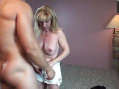Mature slut bangs a 24 year old army guy and pornhub member