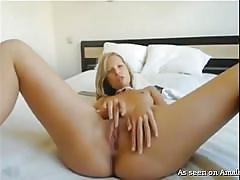 tease, homemade, masturbating, bubble butt, anal dildo, blonde babe, big butt anal, my gf loves anal, the gf network