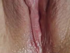 Pussy play with quivering orgasm