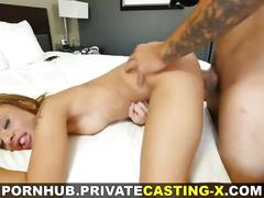 Private casting x - growing fond of big cock
