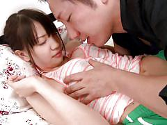 Asian tender with shy smile wants to suck cock