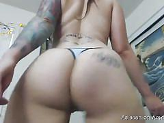 Tattooed slut exposes herself on webcam