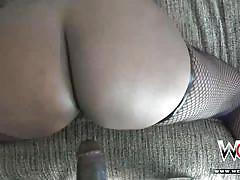 Juicy booty ebony layton benton