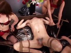 asian, femdom, group sex, handjobs, japanese