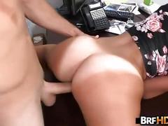 Sexy latina loves cock