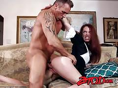 Kassondra raine gets her pussy filled with cock