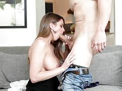 Doggystyle nob job for sexy girl brooklyn chase