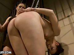 Barbie pink gets punished by mistress kathia nobili