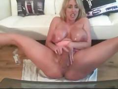 Morgan big titted slut on webcam