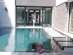 Pool party wet pussies pounding piper perri and lily rader