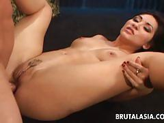 Asian beauty loves to fuck