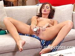 Sexy lily carter masturbating