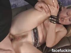 (exclusive) skye avery 3rd time doing the nastier facefucking and some anal