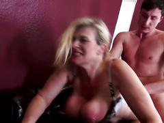 Mature posh busty mom fucks not her son