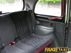 Faketaxi stunning blonde flashes her ass and gets her pussy penetrated