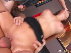 big ass, big tits, brunette, threesome, big-dick, brazzers, cop, mmf, pantyhose, big-tits, big-boobs, cock-sucking, young, 3some, office, shaved, riding, reverse-cowgirl, hardcore