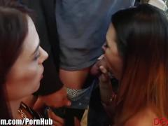 big tits, brunette, threesome, small-tits, devilsfilm, big-dick, petite, 3some, handjob, blowjob, double-blowjob, big-tits, cock-sharing, cumshot, cumswap, big-boobs, ffm, riding