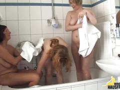 Natursekt in der badewanne