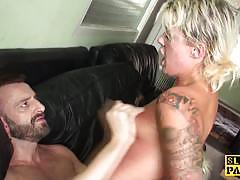 Blonde amateur fucked hard