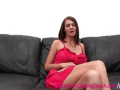 Big tits stripper dp and assfuck on casting couch