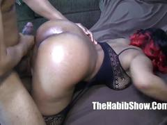 Thickred carmel skinned freak gets banged by bbc jovan jorda