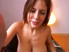 Video for wankers - super busty camgirl!