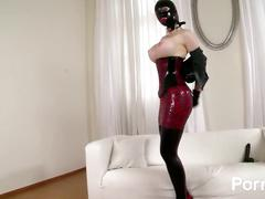 Latex lucy the british dominatrix 2 - scene 2