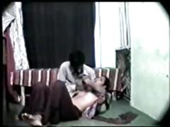 Desi indian girl first time sex with her boyfriend-on cam
