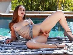 dani daniels, brunette, hardcore, babe, masturbation, toys, small tits, dildo, pornstar, solo, tease, natural tits, small boobs, sex toys, masturbate, natural boobs, masturbating