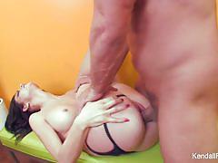 Babe kendall karson loves hard cock
