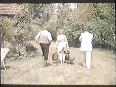 Parties carrees campagnardes - weekend tail (1979) vintage