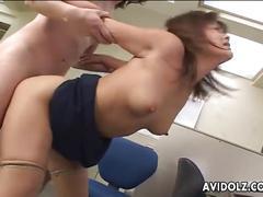 Horny office girl yuka matsushita quickie sex