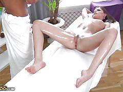 Full body massage for a beauty