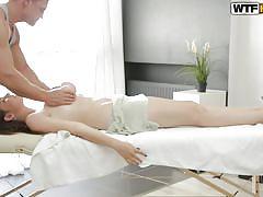 Sheila gets a special massage