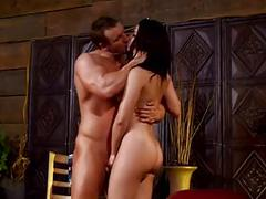 Latina entertainer plays skin flute mc169